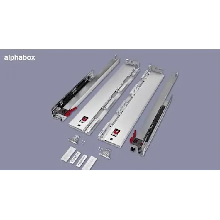 ALPHOBOX Yanaklı Ray (samet)